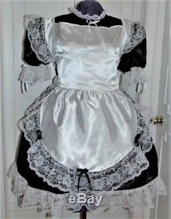 Maid Sissy Lolita Adult Baby Dress Costume Aunt D