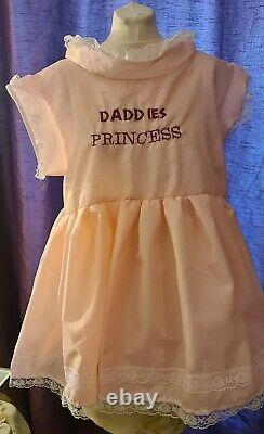 New daddies princess adult dress sissy maid cosplay baby style party quality