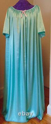 Nightgown Satin Emerald Sissy Lolita Adult Baby Custom Aunt D