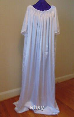 Nightgown Satin White Sissy Lolita Adult Baby Custom Aunt D