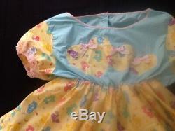 OOAK Adult baby Sissy Dress
