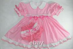 PINK STRAWBERRY PIE Dress Set Custom Made Adult Baby Sissy Littles ABDL