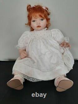 Pauline Bjonness-Jacobsen LE Doll #128/1800 SISSY 18 Baby Red Hair Blue Eyes