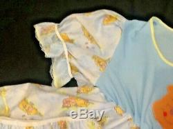 Pooh bear Adult baby Sissy Dress and Diaper cover
