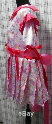 Precious Adult Baby Little Sissy Girl Dress Pleated Polyester Skirt Custom Fit