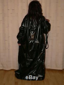 S49ADULT BABY Sissy PVC Nachthemd Kleid Kittel Nightgown dress