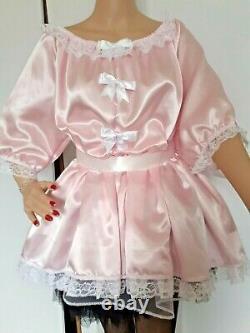 Satin, Sissy, Dress, Adult Baby, Maid, Cosplay, cross-dresser, x dress, cross dressing
