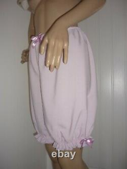 Sissy Adult Baby Frilly Pink Party Dress & Bloomers Sleep Set Made To Measure