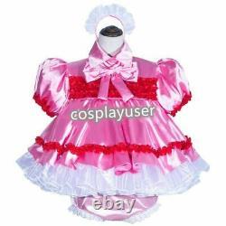 Sissy maid adult baby neuter CD/ TV satin