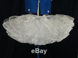 Sissymaidsadult Babyunisexcd/tv Tiered & Layered Organza Petticoat