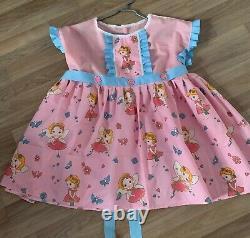 Süsses Kleid adult baby sissy maid Baumwolle XXL