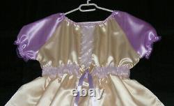 Süsses Kleid adult baby sissy maid Satin