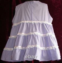 Tiered Lavender Dress Adult Baby Sissy Custom Aunt D
