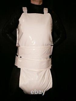 Z21Adult Baby Sissy stuffed Spreading diaper Spreizhose PVC