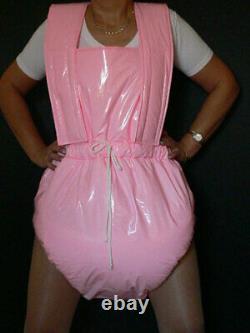 Z6Adult Baby Sissy stuffed PVC Spreading diaper Spreizhose
